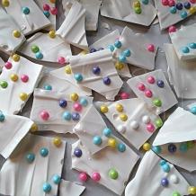 Unicorn Candy Bark photo - 8 x 10 frame Print Art Photography Colorful